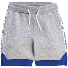 Little Marc Jacobs Boy Chine Grey Shorts