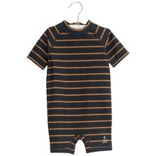 Wheat Midnight Blue Stripe Cas Swimsuit