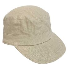 Wheat Linen Emil Cap