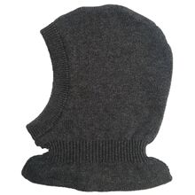 Wheat Balaclava Dark Grey Melange