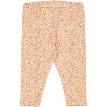Wheat Moonlight Flowers Jersey Leggings