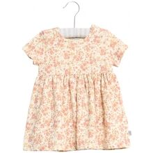 Wheat Egshell Flowers Dress Nova