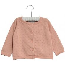 Wheat Maja Knit Cardigan Misty Rose