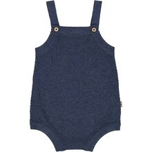 Wheat Blue Melange Knit Romper Vilde