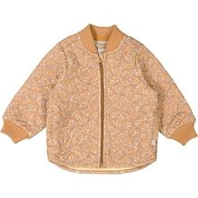 Wheat Thermo Golden Flowers Loui Jacket