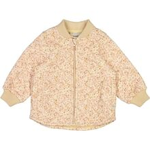 Wheat Thermo Soft Beige Flowers Loui Jacket