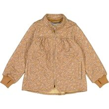 Wheat Thermo Golden Flowers Thilde Jacket