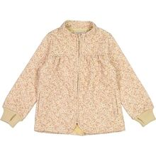 Wheat Thermo Soft Beige Flowers Thilde Jacket