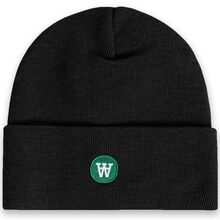 Wood Wood Kai Beanie Black