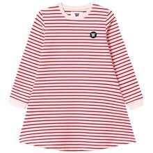 Wood Wood Red Stripes/Off White Aya Dress