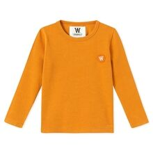 Wood Wood Kim Kids Long Sleeve Orange