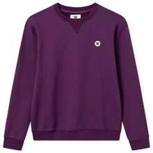 Wood Wood Double A Rod Kids Sweatshirt Aubergine