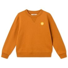 Wood Wood Double A Rod Kids Sweatshirt Camel