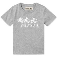 Wood Wood MMM Disney Ola Kids T-shirt Grey Melange
