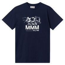 Wood Wood MMM Disney Ola Kids T-shirt Navy