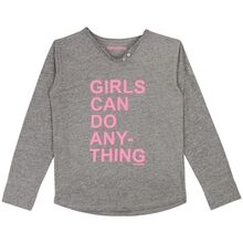 Zadig & Voltaire T-Shirt Tunesian Collar Grey/Pink